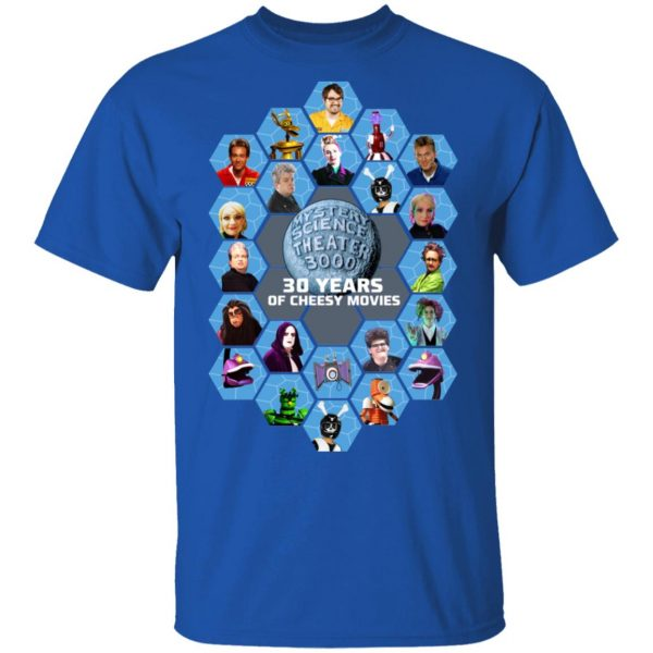 Mystery Science Theater 3000 30 Years Of Cheesy Movies Shirt, Hoodie, Tank Apparel 4