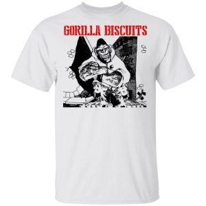 Gorilla Biscuits Shirt, Hoodie, Tank Apparel 2
