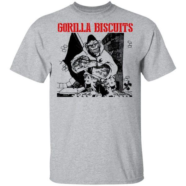 Gorilla Biscuits Shirt, Hoodie, Tank Apparel 5