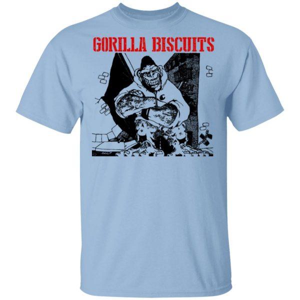 Gorilla Biscuits Shirt, Hoodie, Tank Apparel 3