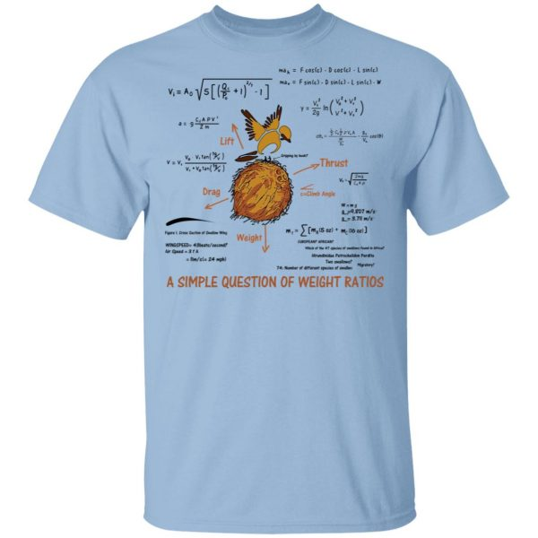 A Simple Question Of Weight Ratios Funny Math Teacher Shirt, Hoodie, Tank Apparel