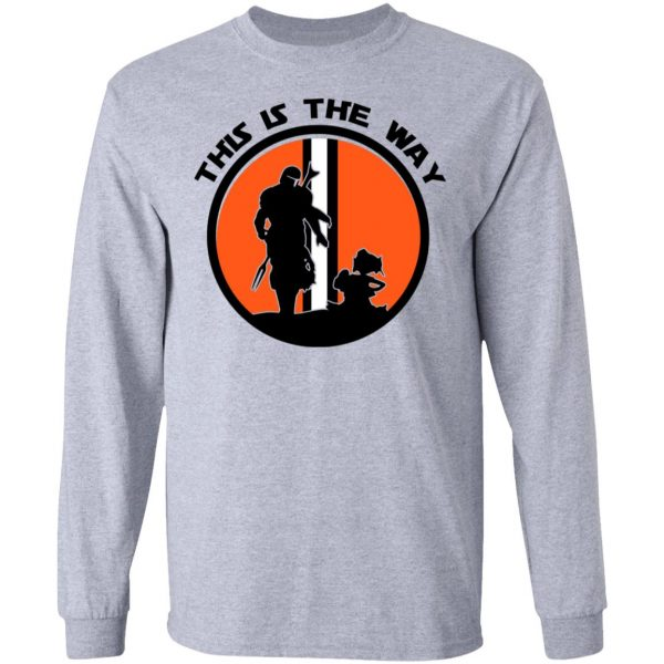This Is The Way The Mandalorian Silhouette Star Wars Shirt, Hoodie, Tank Apparel