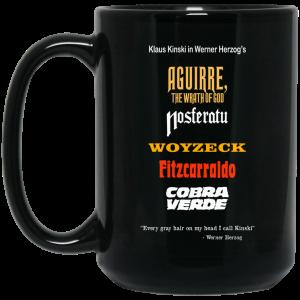 Aguirre The Wrath Of God Nosferatu Woyzeck Fitzcarraldo Cobra Verde Mug Coffee Mugs 2