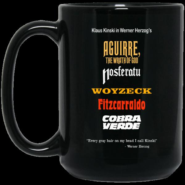 Aguirre The Wrath Of God Nosferatu Woyzeck Fitzcarraldo Cobra Verde Mug Coffee Mugs 4