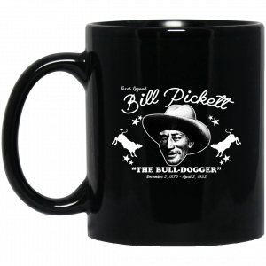 Bill Pickett The Bull-Dogger Mug Coffee Mugs