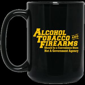 ATF Alcohol Tobacco And Firearms Mug Coffee Mugs 2