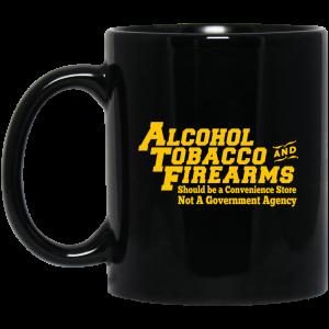 ATF Alcohol Tobacco And Firearms Mug Coffee Mugs