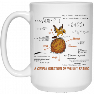 A Simple Question Of Weight Ratios Funny Math Teacher Mug Coffee Mugs
