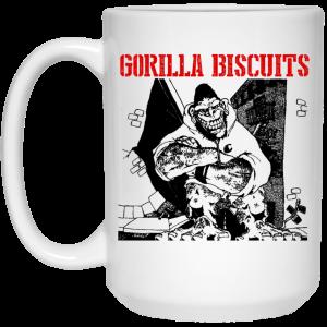 Gorilla Biscuits Mug Best Selling 2