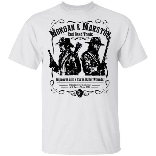 Morgan & Marston Red Dead Tonic Shirt, Hoodie, Tank Apparel