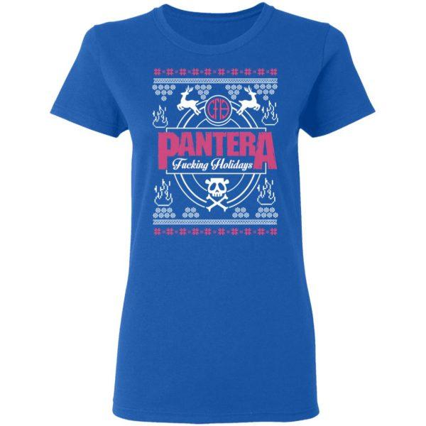 Pantera Fucking Holidays Christmas Sweatshirt, Hoodie, Tank Apparel