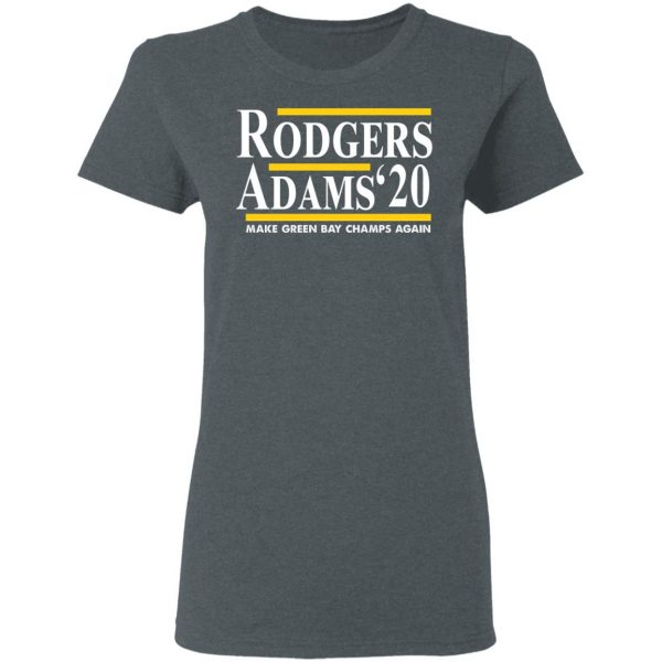 Rodgers Adam's 2020 Make Green Bay Champs Again Shirt, Hoodie, Tank Apparel