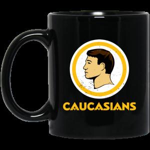 Washington Caucasians Redskins Mug Coffee Mugs