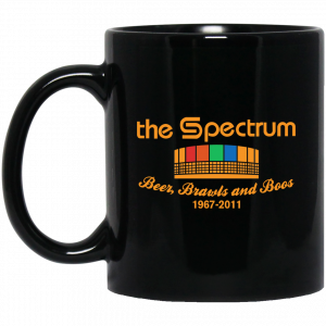 The Spectrum Beer Brawls And Boos 1967 2011 Mug Coffee Mugs