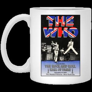 The Who The Rock And Roll Hall Of Fame Mug Coffee Mugs