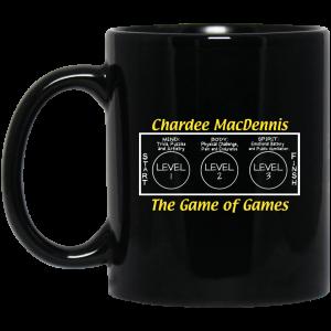 Chardee MacDennis The Game of Games Mug Coffee Mugs