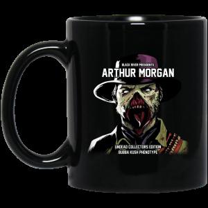 Black River Presidents Arthur Morgan Undead Collectors Edition Mug Coffee Mugs