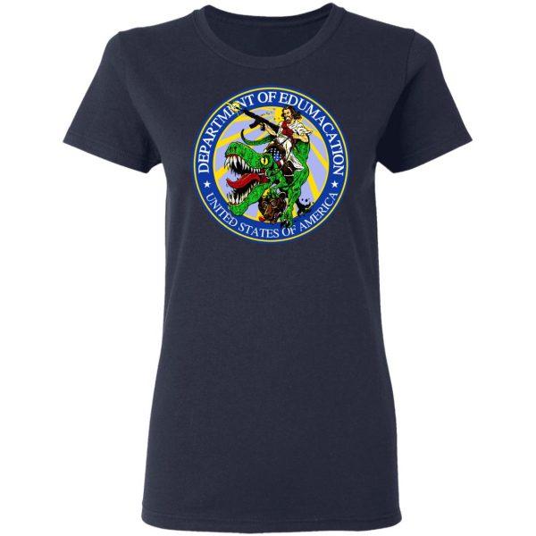 Department Of Edumacation United States Of America T-Rex Jesus Shirt, Hoodie, Tank Apparel