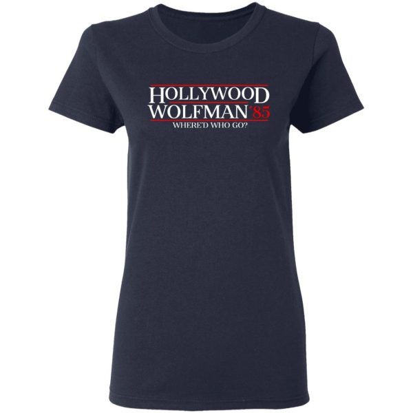 Danger Zone Hollywood Wolfman 85′ Where'D Who Go Shirt, Hoodie, Tank Apparel