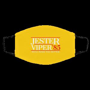 Danger Zone Jester Viper 85′ We'll Make You Better Face Mask Face Mask 2