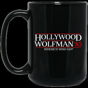 Danger Zone Hollywood Wolfman 85′ Where'D Who Go Mug Coffee Mugs 2