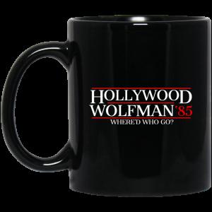 Danger Zone Hollywood Wolfman 85′ Where'D Who Go Mug Coffee Mugs