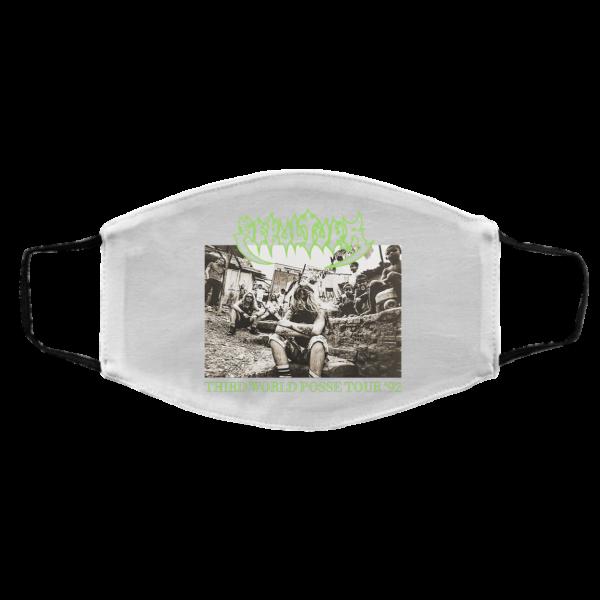Sepultura Third World Posse Tour 92 Face Mask Face Mask 3