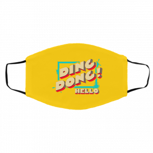 Ding Dong Hello Bayley Face Mask Best Selling 2