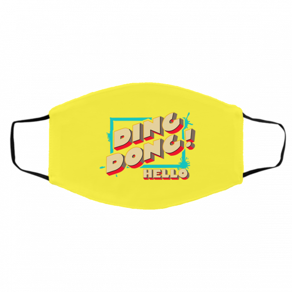Ding Dong Hello Bayley Face Mask Best Selling 15