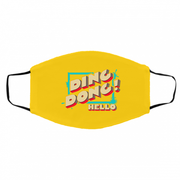 Ding Dong Hello Bayley Face Mask Best Selling 8