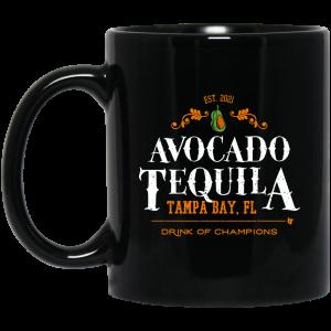 Avocado Tequila Tampa Bay Florida Drink Of Champions Mug Coffee Mugs
