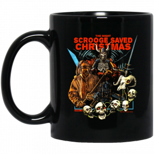 The Night Scrooge Saved Christmas Mug Coffee Mugs