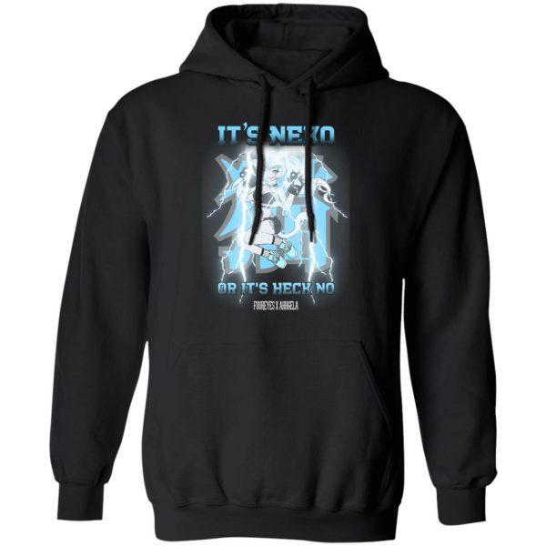 It's Neko Or It's Heck No Foureyes X Ahhgela Shirt, Hoodie, Tank Apparel 11