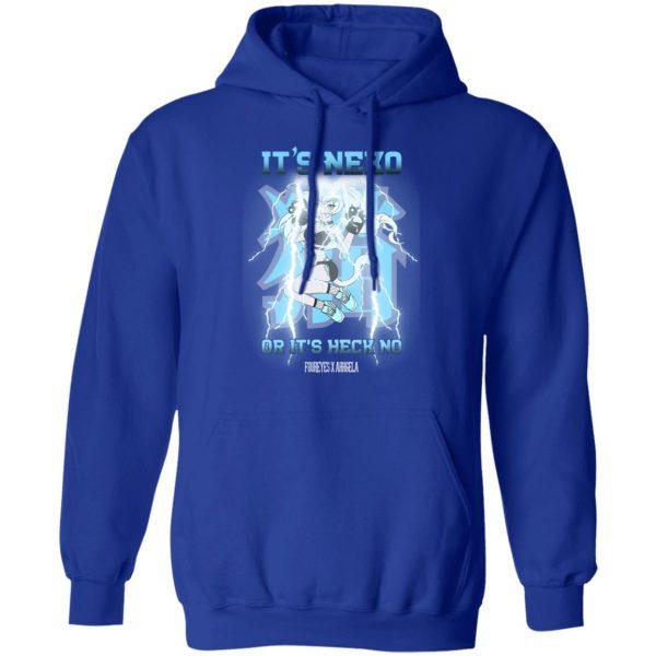It's Neko Or It's Heck No Foureyes X Ahhgela Shirt, Hoodie, Tank Apparel 14