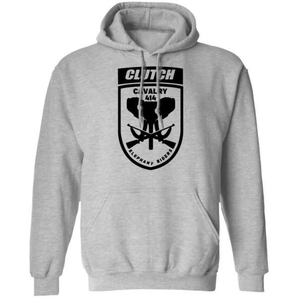 Clutch Elephant Riders Cavalry 414 Shirt, Hoodie, Tank Apparel