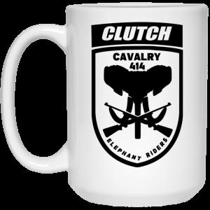 Clutch Elephant Riders Cavalry 414 Mug Coffee Mugs 2