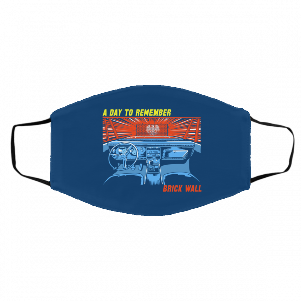 A Day To Remember Brick Wall Face Mask Face Mask 13