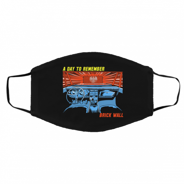 A Day To Remember Brick Wall Face Mask Face Mask 5