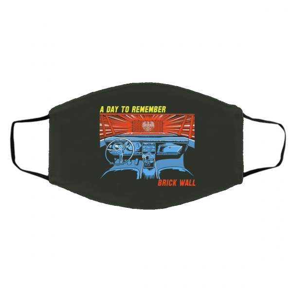 A Day To Remember Brick Wall Face Mask Face Mask 7