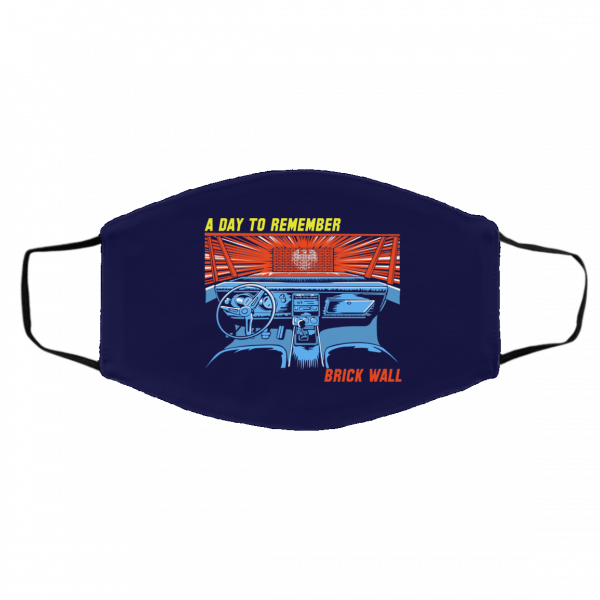 A Day To Remember Brick Wall Face Mask Face Mask 9