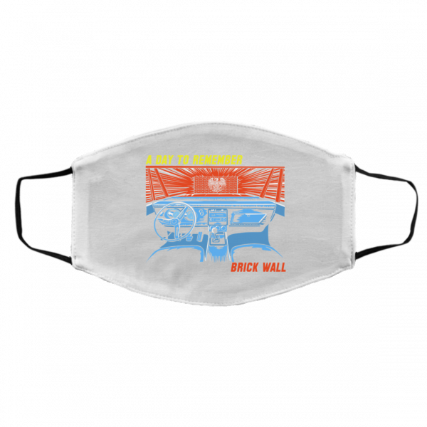 A Day To Remember Brick Wall Face Mask Face Mask 3