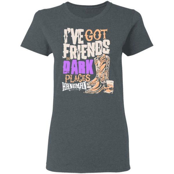 I've Got Friends In Dark Places Hangman Adam Page Shirt, Hoodie, Tank Apparel 8