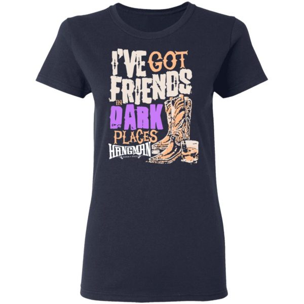 I've Got Friends In Dark Places Hangman Adam Page Shirt, Hoodie, Tank Apparel 9