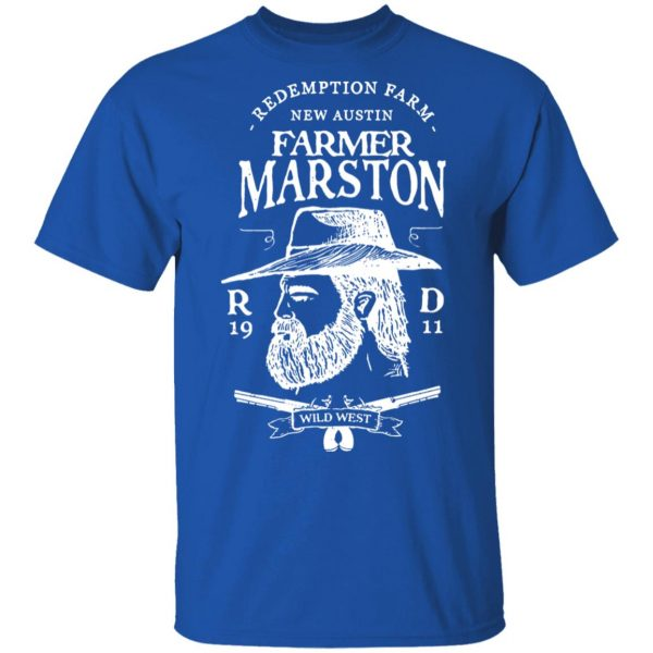 Farmer Marston Redemption Farm New Austin 1911 Shirt, Hoodie, Tank Apparel 6