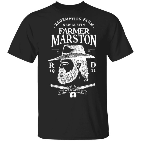 Farmer Marston Redemption Farm New Austin 1911 Shirt, Hoodie, Tank Apparel 3