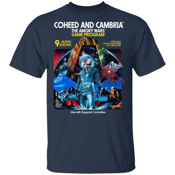 Coheed And Cambria The Amory Wars Game Program Shirt, Hoodie, Tank Apparel 5