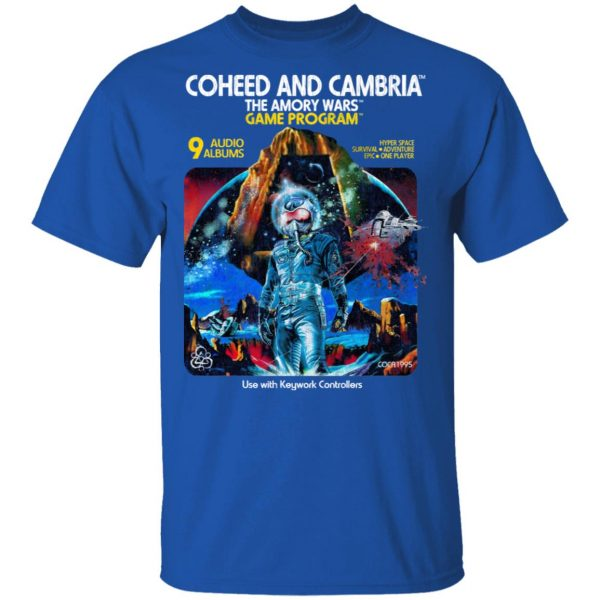 Coheed And Cambria The Amory Wars Game Program Shirt, Hoodie, Tank Apparel 6
