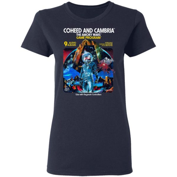 Coheed And Cambria The Amory Wars Game Program Shirt, Hoodie, Tank Apparel 9
