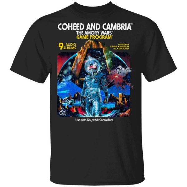 Coheed And Cambria The Amory Wars Game Program Shirt, Hoodie, Tank Apparel 3
