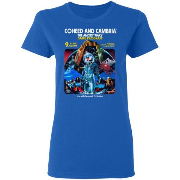 Coheed And Cambria The Amory Wars Game Program Shirt, Hoodie, Tank Apparel 10